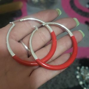 Unique vintage hoops!